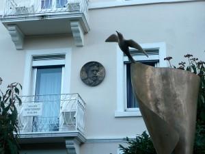 Баденвайлер. Дом, где жил А.П. Чехов